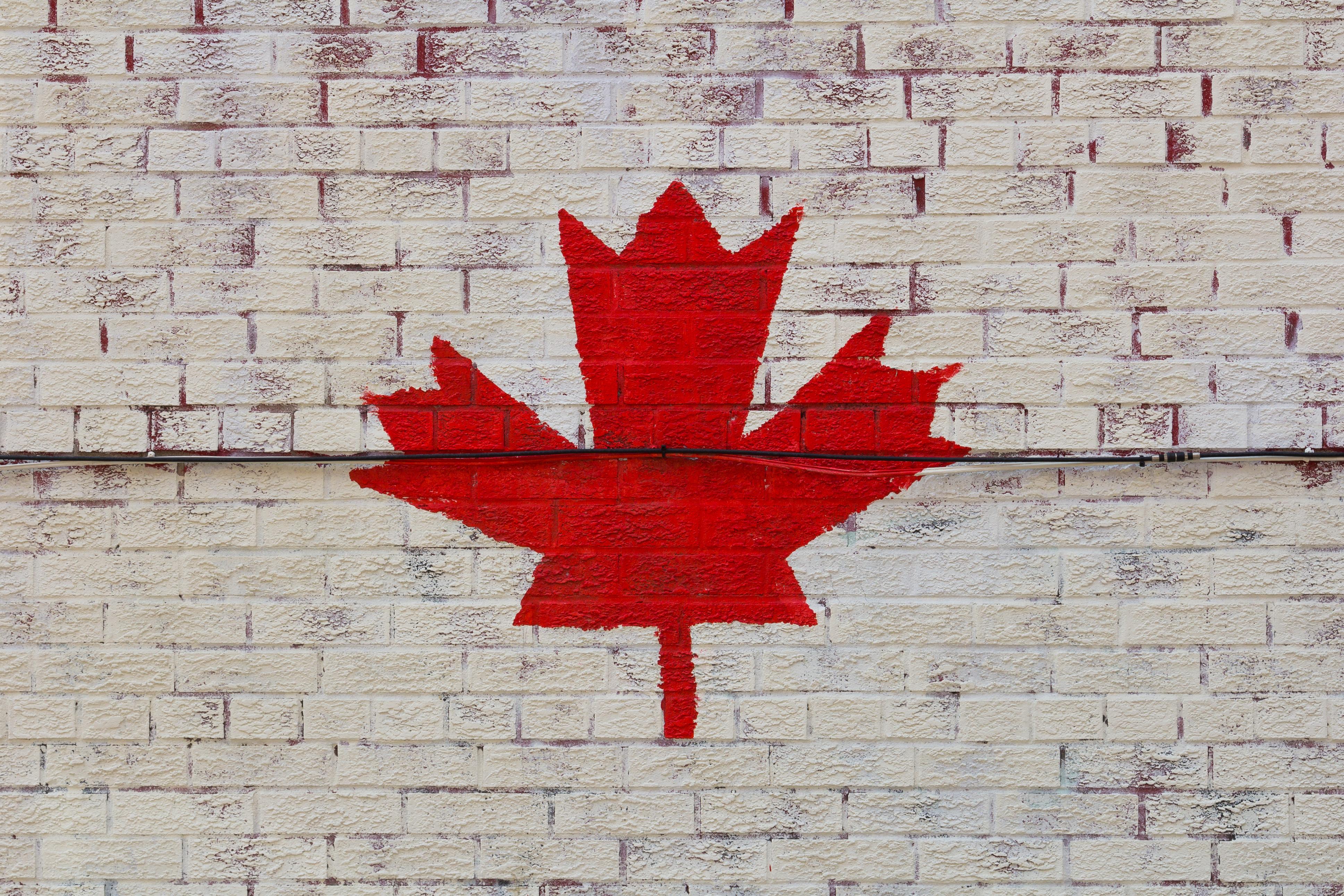 Canada Symbol on a Wall