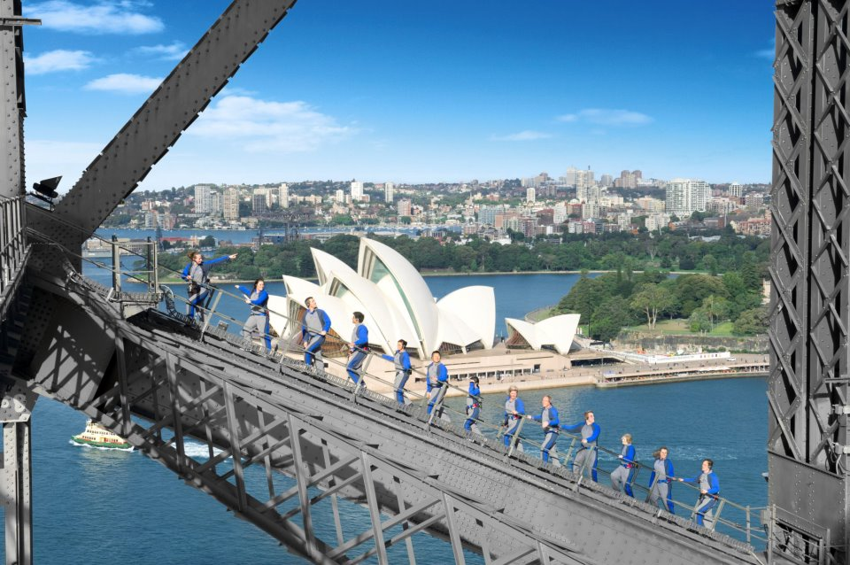 Harbour Bridge Escalada Sydney