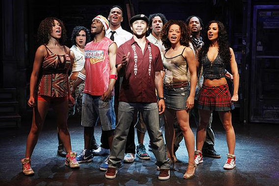 Espetáculo In The Heights na Broadway