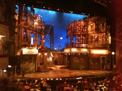 "Cenário de ""In the Heights"", Broadway"
