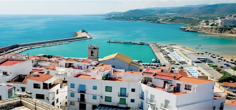 Vista panorâmica de de Valência, Espanha