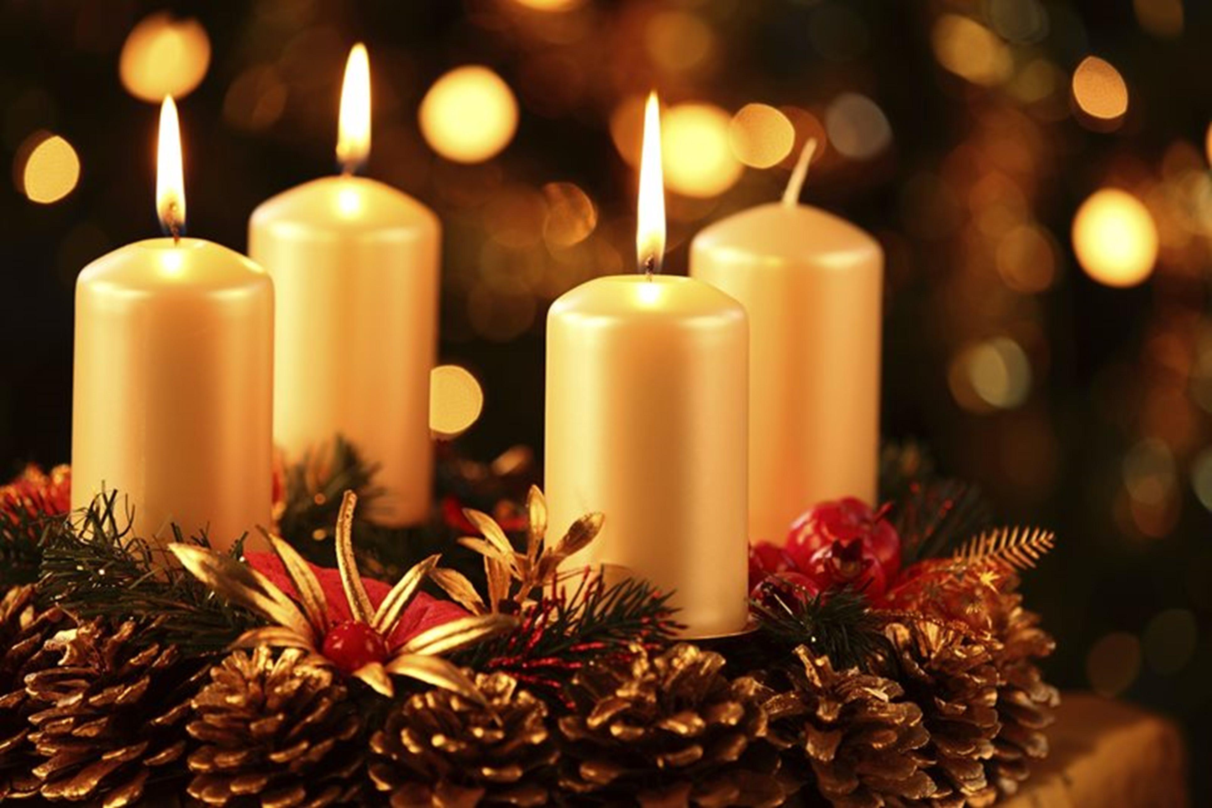 coroa do advento, tradição do Natal da Alemanha