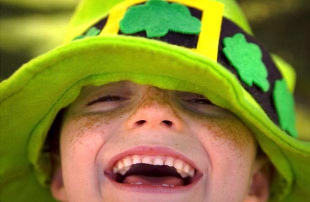 crianca irlandesa